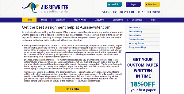 AussieWriter.com Review: How They Didn't Help Me