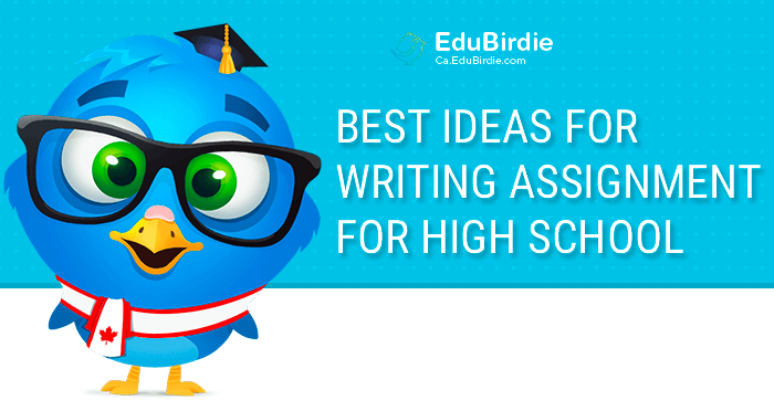 Best Ideas for Writing Assignment for High School
