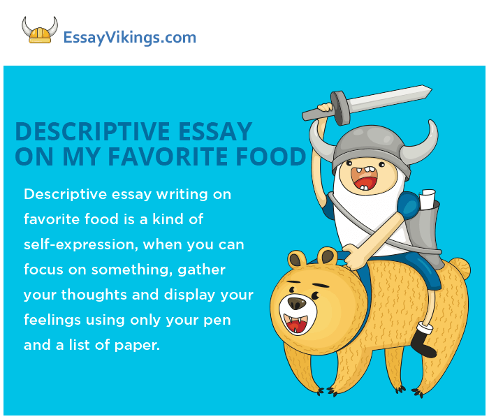 Descriptive essay about food