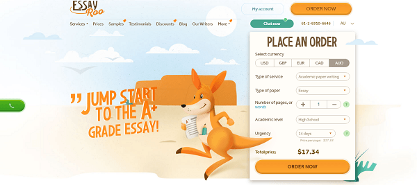 EssayRoo.com Review: Quality & Price Of Writing Services