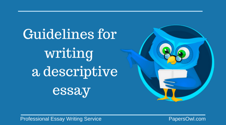 writing descriptive essay