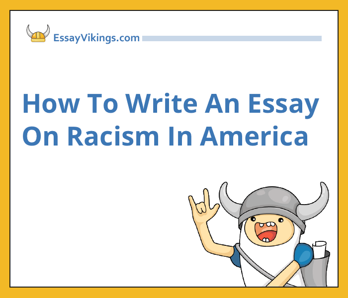 essay about racism
