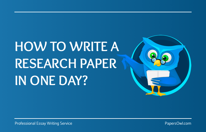 How To Write Research Paper Fast On PapersOwl