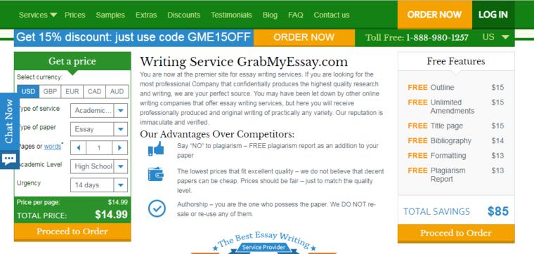 Our Honest Grabmyessay.com Review