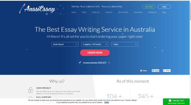 Aussiessay.com Review: Why I Would Not Choose This Service Again?