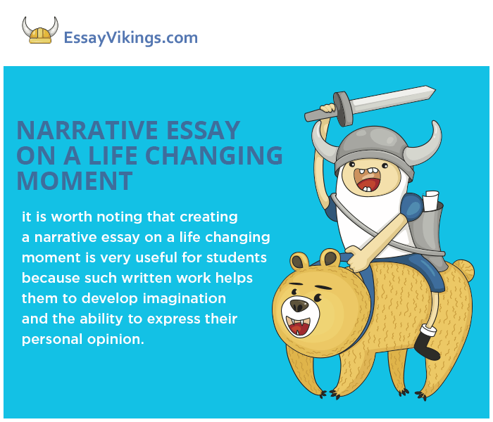 "essay on life changing events Free essay: ""a life changing event"" there are many events that stand out in my life that were significant and helped me grow stronger one of these events."