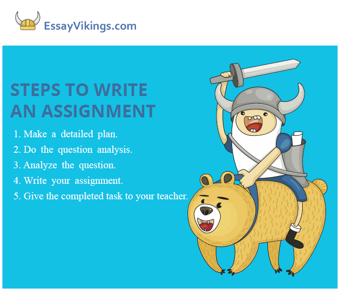Steps to Write an Assignment