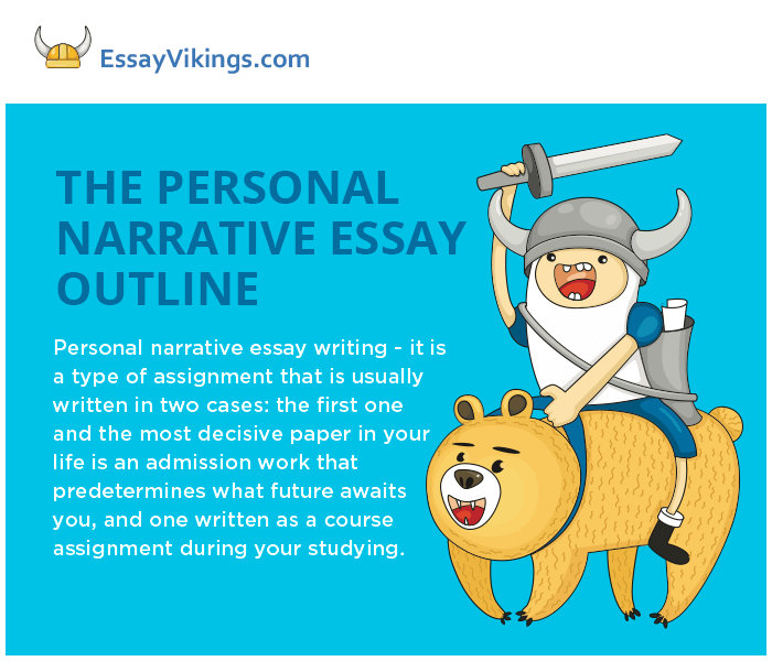 the personal narration assignment outline writing essayvikings the personal narrative essay outline