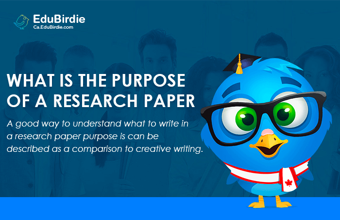 What is the Purpose of a Research Paper