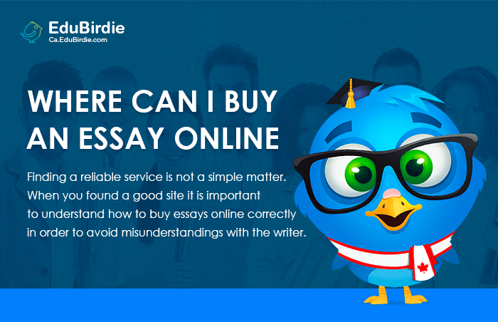 How can i buy an essay
