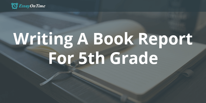 Writing A Book Report For 5th Grade