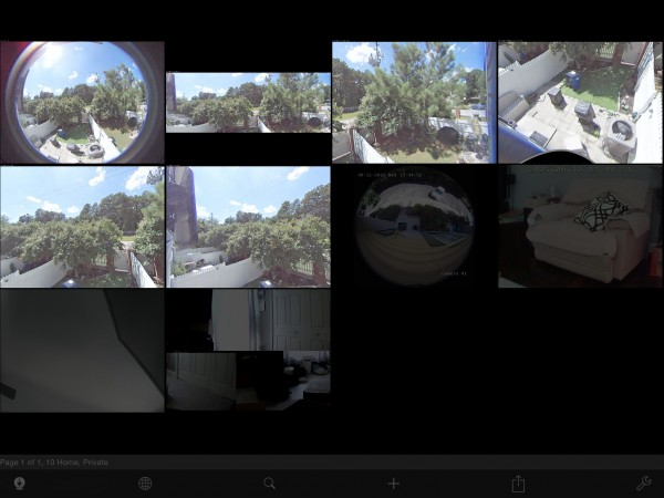 AXIS M3027-PVE in LiveCams Pro
