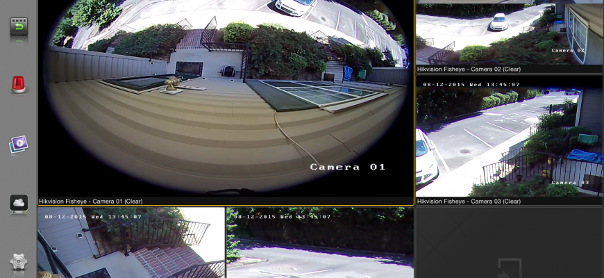 Fish Eye Cameras – Hikvision DS-2CD6362F-IV Versus AXIS M3027-PVE