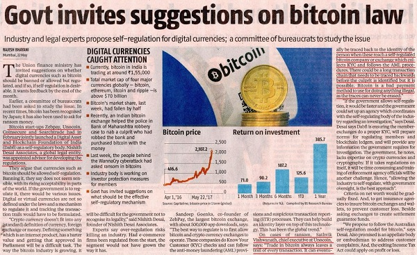 News on cryptocurrency india