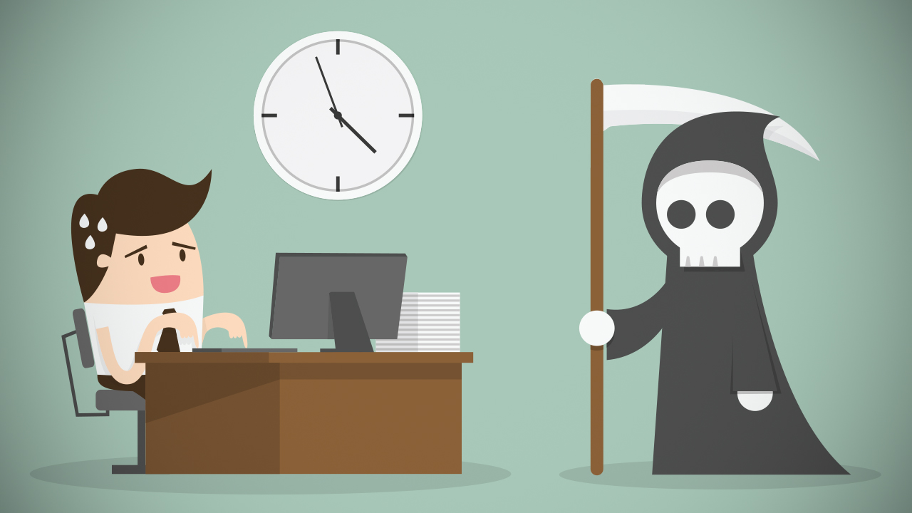 Compliance and task management to meet deadlines at work to minimize risks