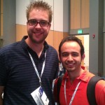 Me with Dries Buytaert, creator of Drupal