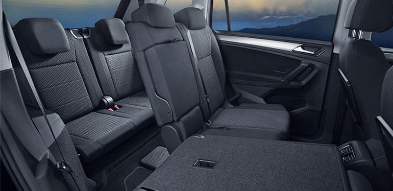 Interior del nuevo SUV Tiguan 2018 de Vokswagen