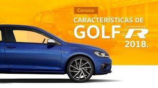 Características de Golf R 2018 de Volkswagen características del auto compacto