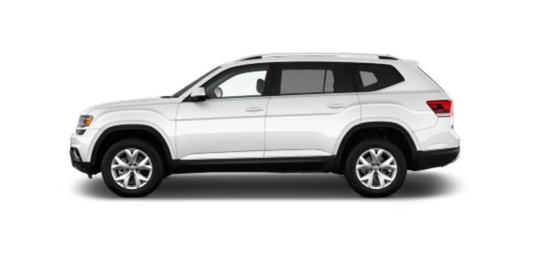 vw atlas suv lateral