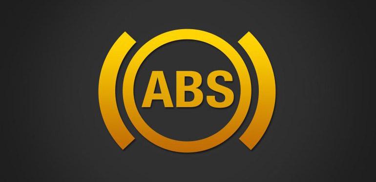 Logotipo del sistema ABS encontrado en los vehículos Volkswagen