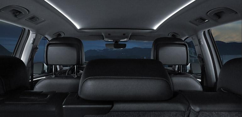 Nuevo Tiguan Versión R-Line 2018 de Volkswagen - Vista de interiores