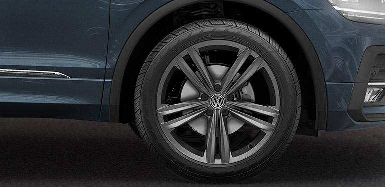 Rines deportivos de la camioneta Tiguan R-Line 2018 de Volkswagen