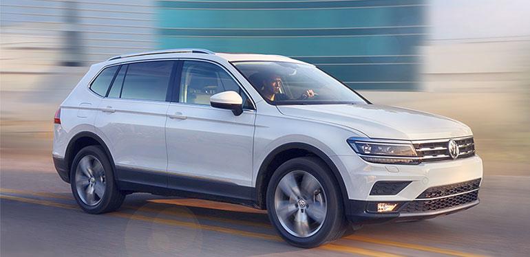 SUV Tiguan 2018 de Volkswagen en color blanco