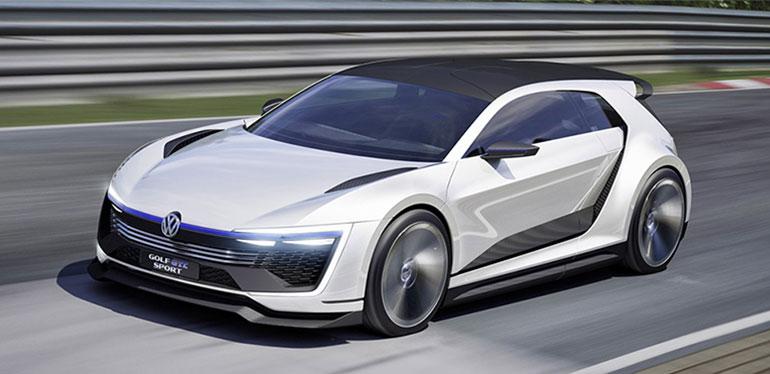 Vehículo concepto Golf GTE Sport de Volkswagen