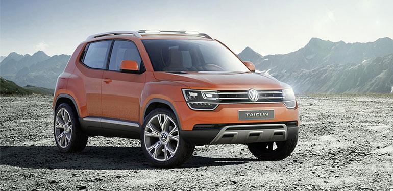 Vehículo Taigun concept de Volkswagen
