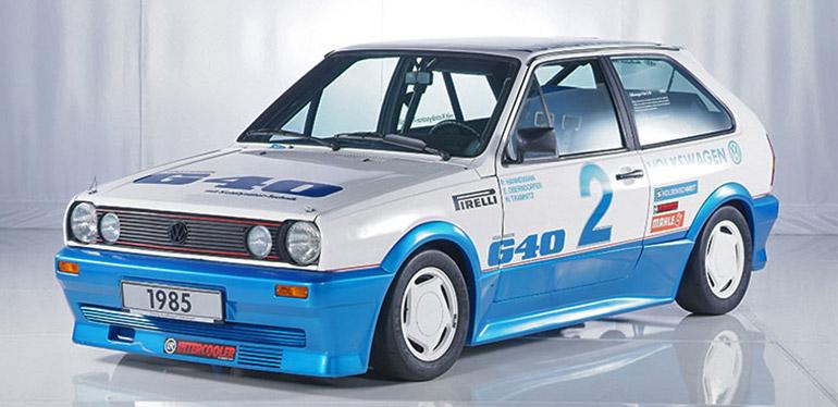 Auto de carrera Polo G40 de Volkswagen