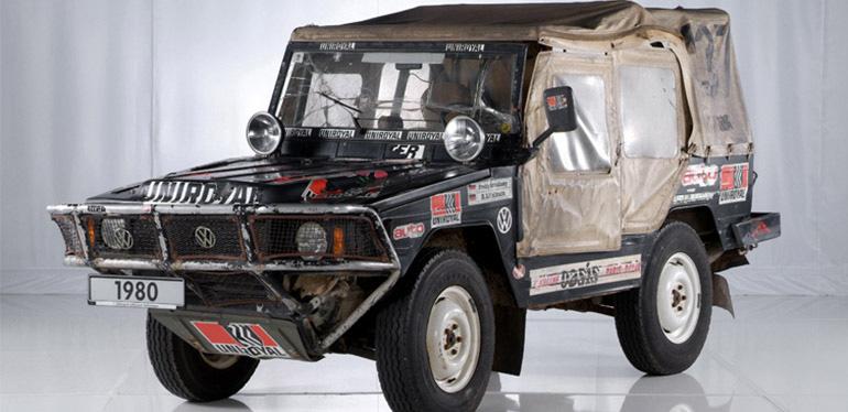 Auto de carrera Race Iltis de Volkswagen