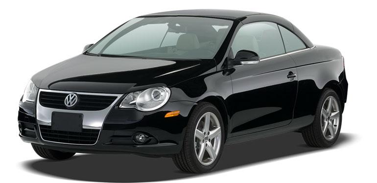 Eos de Volkswagen color negro