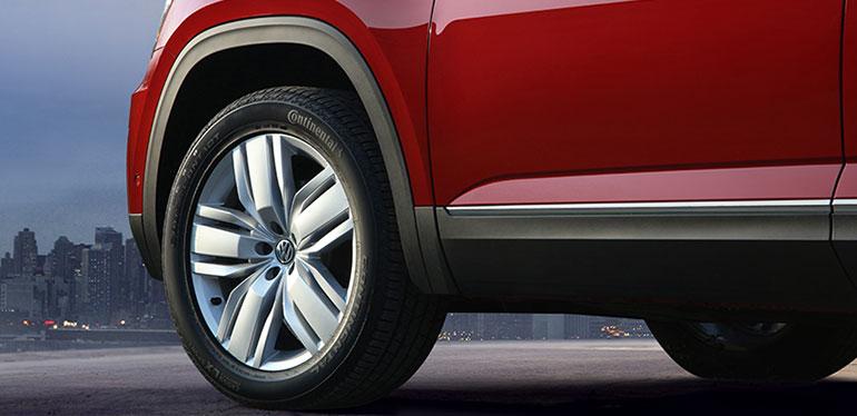Detalle lateral de Nuevo Teramont 2019 de Volkswagen