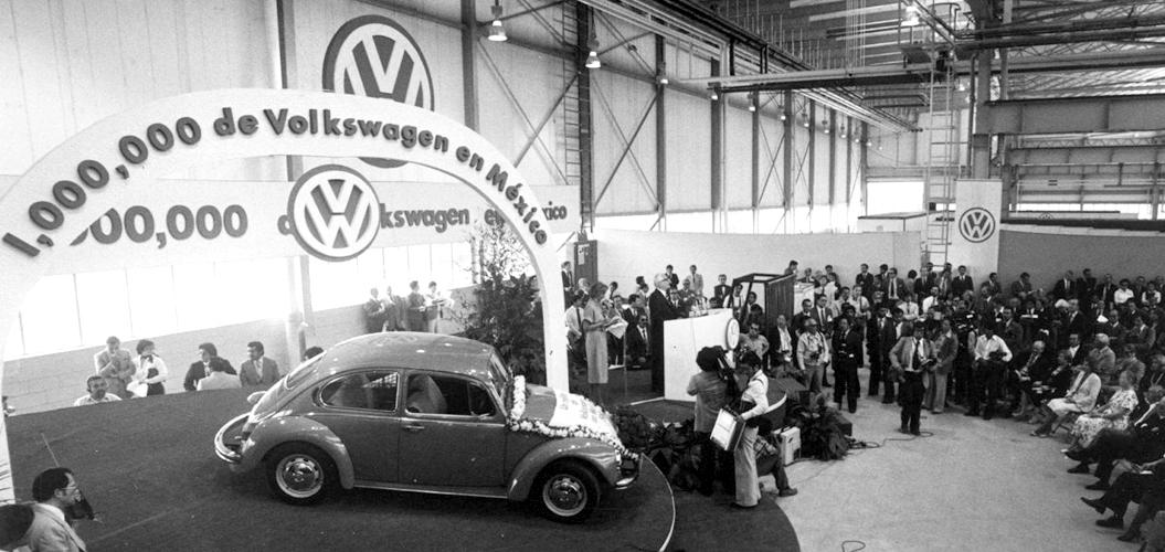 Vocho de Volkswagen, uno de los autos emblema en México