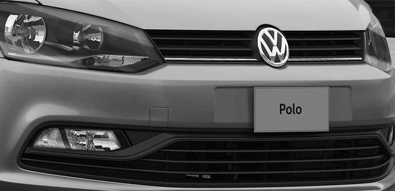 Parrilla del Polo 2019 de Volkswagen