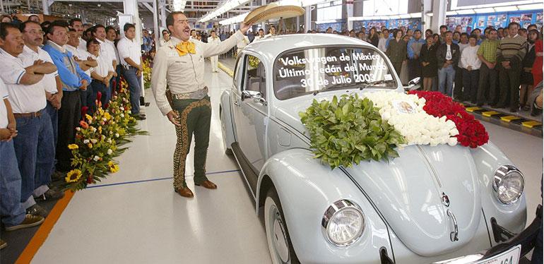 Último Beetle del mundo, armado en Volkswagen México