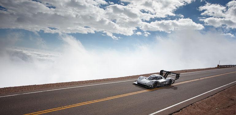 I.D. R Pikes Peak, auto eléctrico de carreras de Volkswagen