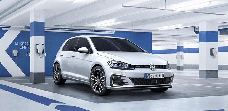 Golf GTE, auto híbrido de Volkswagen
