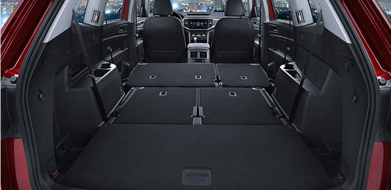 Interior de Nuevo Teramont, camioneta de Volkswagen