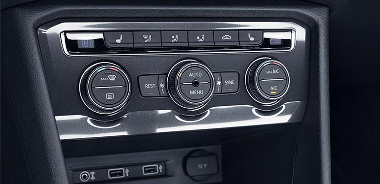 Consola de calefacción del Nuevo Tiguan de Volkswagen