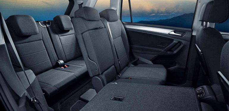 Interior del Nuevo Tiguan de Volkswagen
