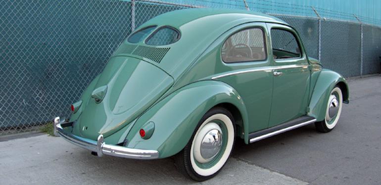 Auto Beetle de Volkswagen de 1949