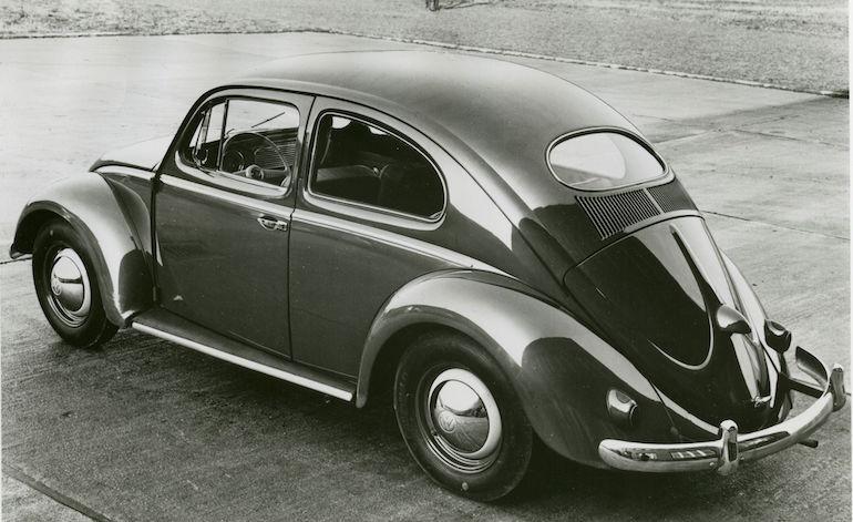 Vocho antiguo de Volkswagen