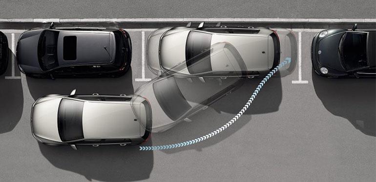 Tecnología asistente de reversa de Volkswagen