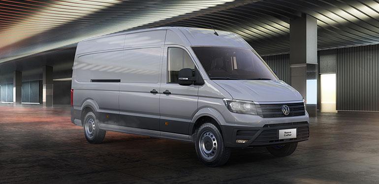 Nuevo Crafter 2019 es uno de los vehículos comerciales de Volkswagen