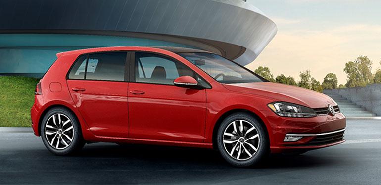Golf de Volkswagen, auto con promoción en el Buen Fin 2018