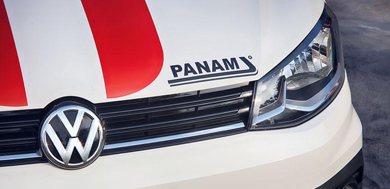 Faro de Gol-PANAM de Volkswagen