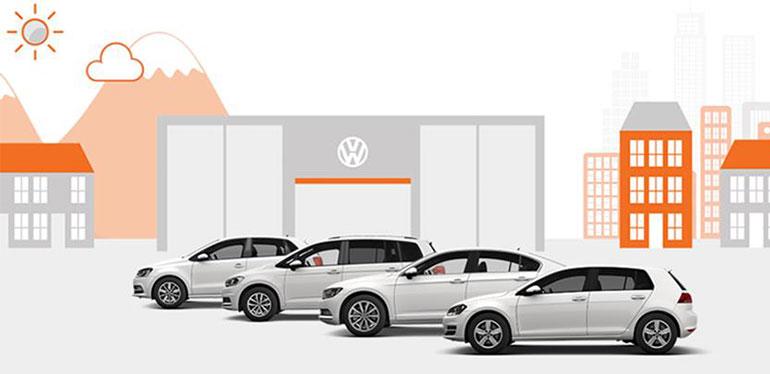 Diferentes autos usados garantizados ofrecidos en Das WeltAuto