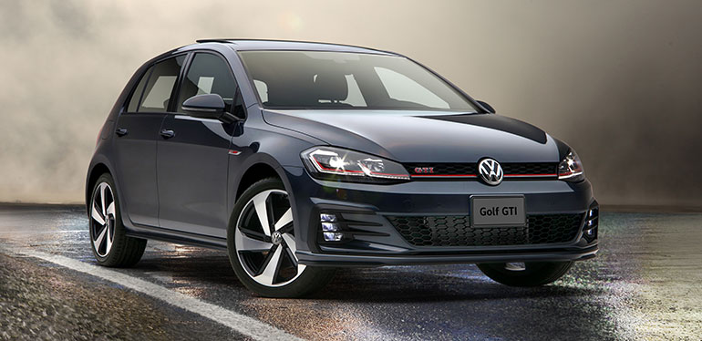 conoce los autos compactos golf y golf gti 2019 volkswagen. Black Bedroom Furniture Sets. Home Design Ideas