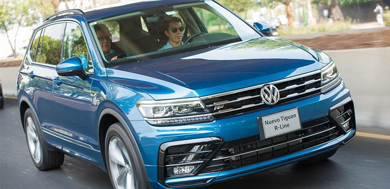 SUV deportiva Tiguan R-Line de Volkswagen